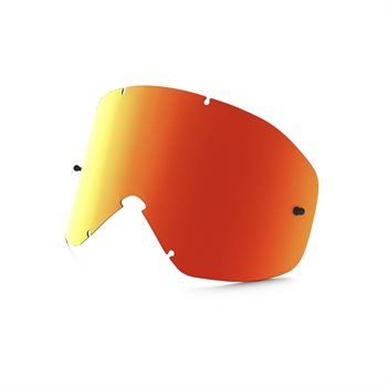 LENTILLE V OAKLEY O2 MX FIRE IRIDIUM